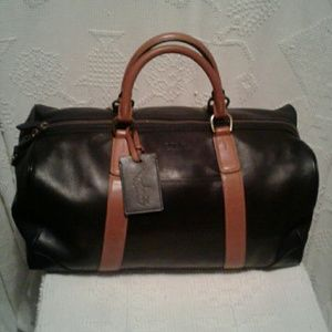 7058c73bcf1c Polo by Ralph Lauren Bags   Nwt Polo Ralph Lauren Leather Duffel Bag ...